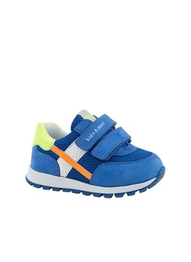 Kids A More Carl Çift Cırtlı Deri Ve Air File Detaylı Erkek Bebek Sneaker  Saks
